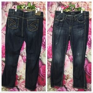 cd1e5301 Silver Jeans. Silver Jeans FRANCES Boot Cut Jeans Size 18